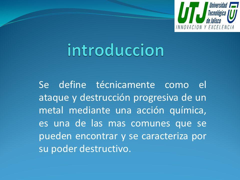 La Corrosión Galvánica resulta de un fenómeno de electrólisis entre dos metales de potencial eléctrico diferente que se hallan en contacto y en presencia de humedad.