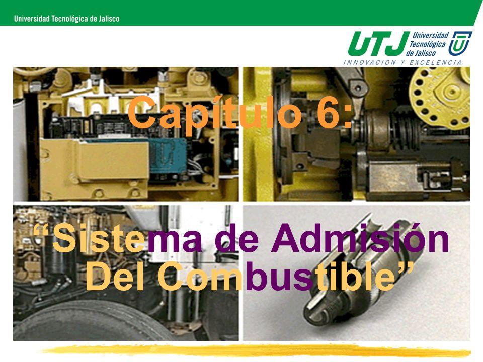 Capítulo 6: Sistema de Admisión Del Combustible