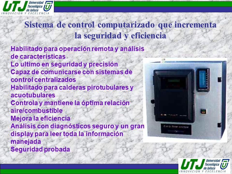 Habilitado para operación remota y análisis de características Lo ultimo en seguridad y precisión Capaz de comunicarse con sistemas de control central