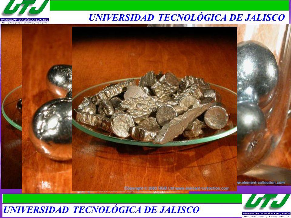 Segundos Metales de Transición I 1.Hierro: Ferrum, 4to en abundancia, ingrediente básico de todos los aceros.