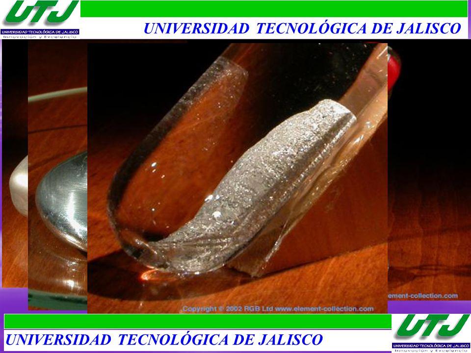 FAMILIA DEL BORO 1.Aluminio: Alumen, metal más abundante. Tubos de pasta de dientes, alas de aviones. 2.Galio: Gallia, Metal que se funde en la mano.