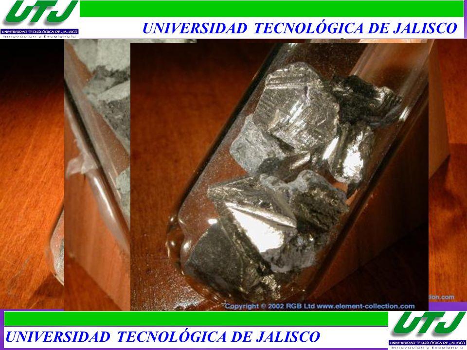 TIERRAS RARAS: LANTÁNIDOS I 1.Lantano: Lanthanein, muy reactivo al ambiente.