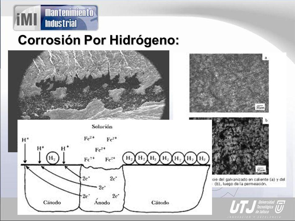 Corrosión por Desaleación: Se presenta en aleaciones. Puede ser tóxico en alimentos.
