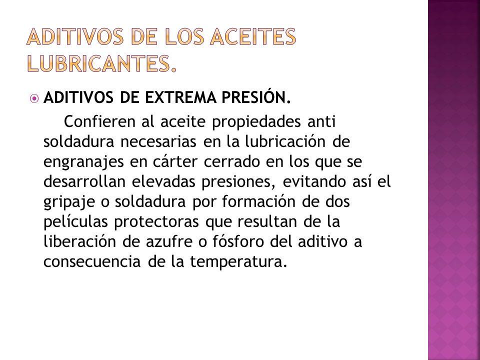 ADITIVOS MEJORADORES DEL PUNTO DE CONGELACIÓN.