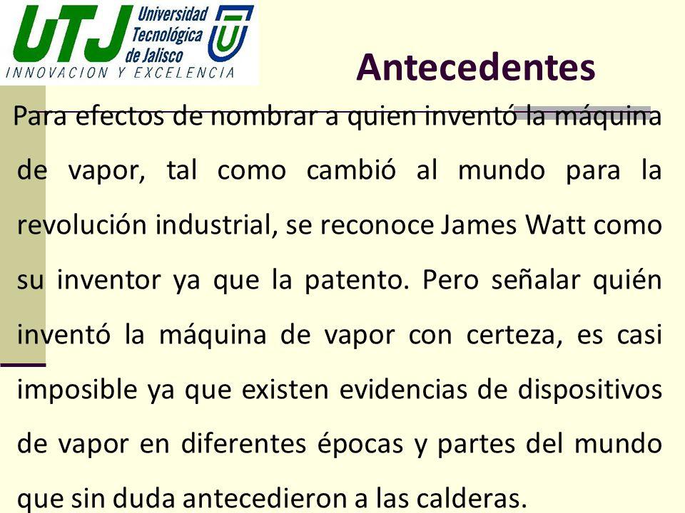 Para efectos de nombrar a quien inventó la máquina de vapor, tal como cambió al mundo para la revolución industrial, se reconoce James Watt como su in