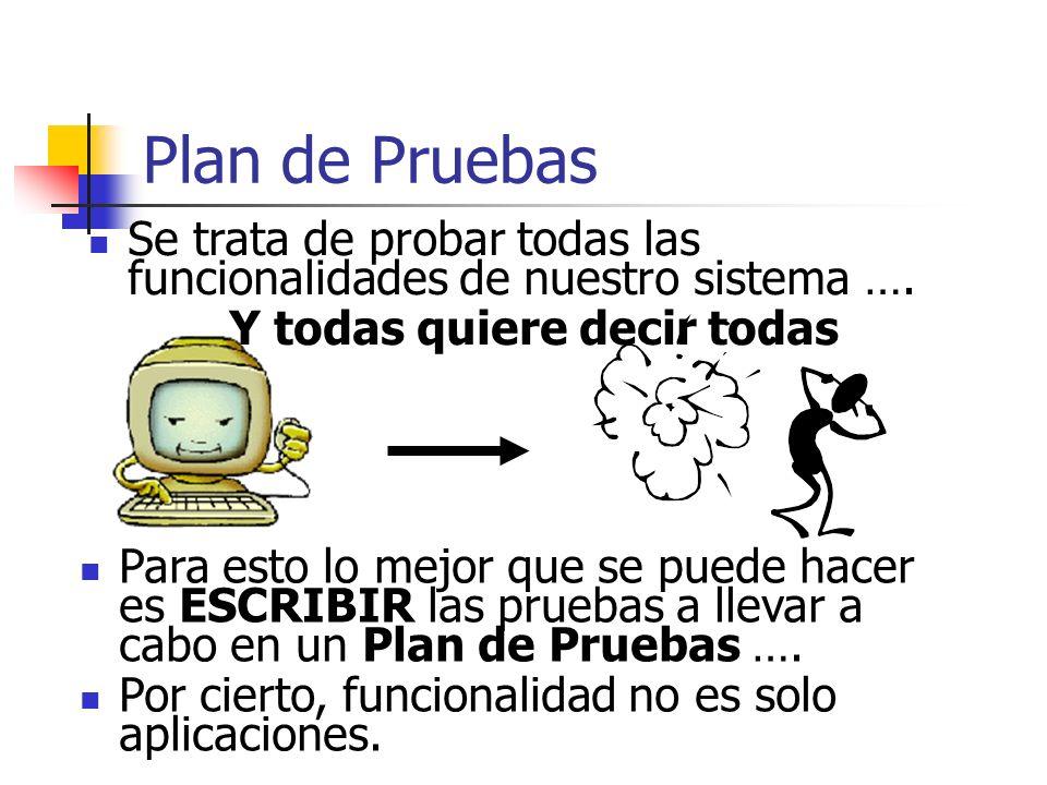 Evaluación de proyectos ESTRATEGIAS DE PRUEBA DEL SOFTWARE Cualquier estrategia de prueba debe incorporar: 1) planificación de la prueba 2) el diseño