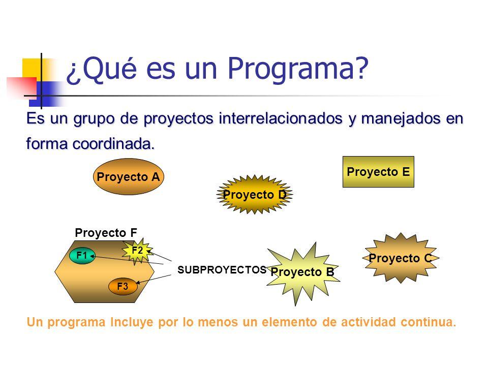 Ejemplos de proyectos Adquisición de una empresa Desarrollo de nuevos productos Planificación de nuevas localizaciones Ejecución de auditorias Campaña