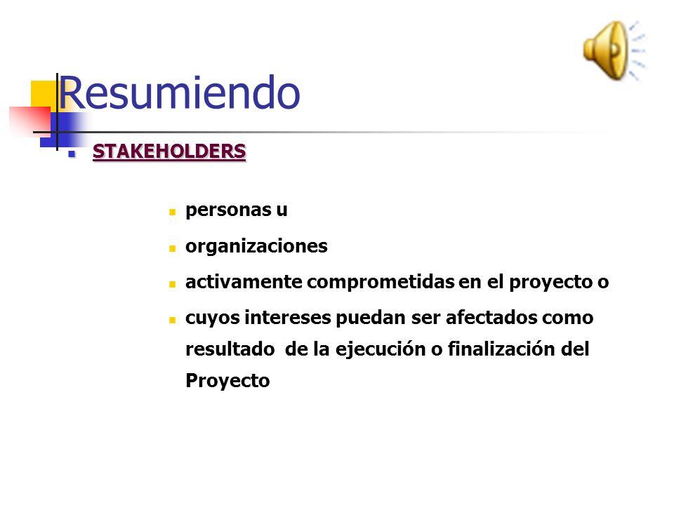 Resumiendo ADMINISTRACION DE PROYECTOS ADMINISTRACION DE PROYECTOS : es el conjunto de conocimientos, habilidades, herramientas y técnicas; aplicadas