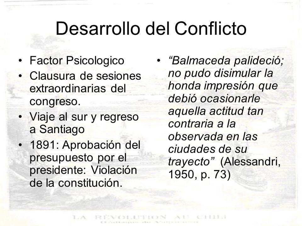 Desarrollo del Conflicto Sublevación de la escuadra nacional.