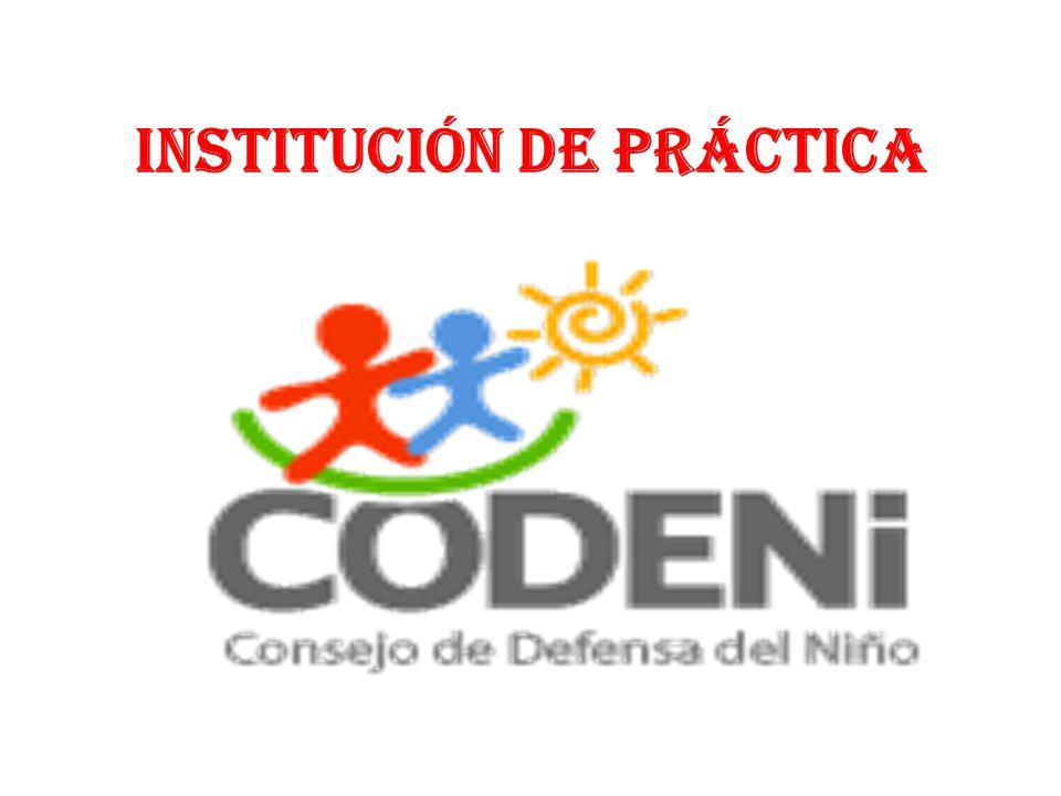Institución de Práctica