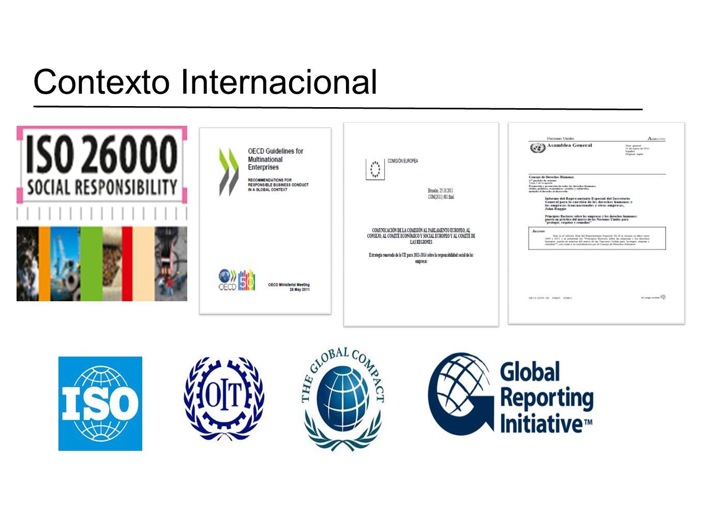 Desafíos en Chile Integración con ISO 26.000 Introducir sus temas en carreras de Pregrado, Diplomados y Magíster Alianzas entre Universidades Orientar en ISO 26.000 los Diplomados de RS Organizar seminarios de RS Potenciar el Voluntariado