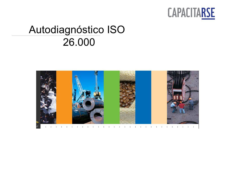 Autodiagnóstico ISO 26.000