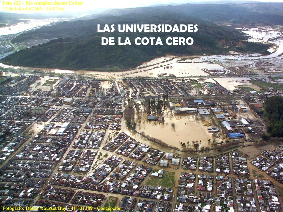 LAS UNIVERSIDADES DE LA COTA CERO
