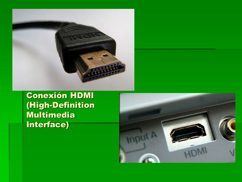 Conexión USB (Universal Serial Bus)