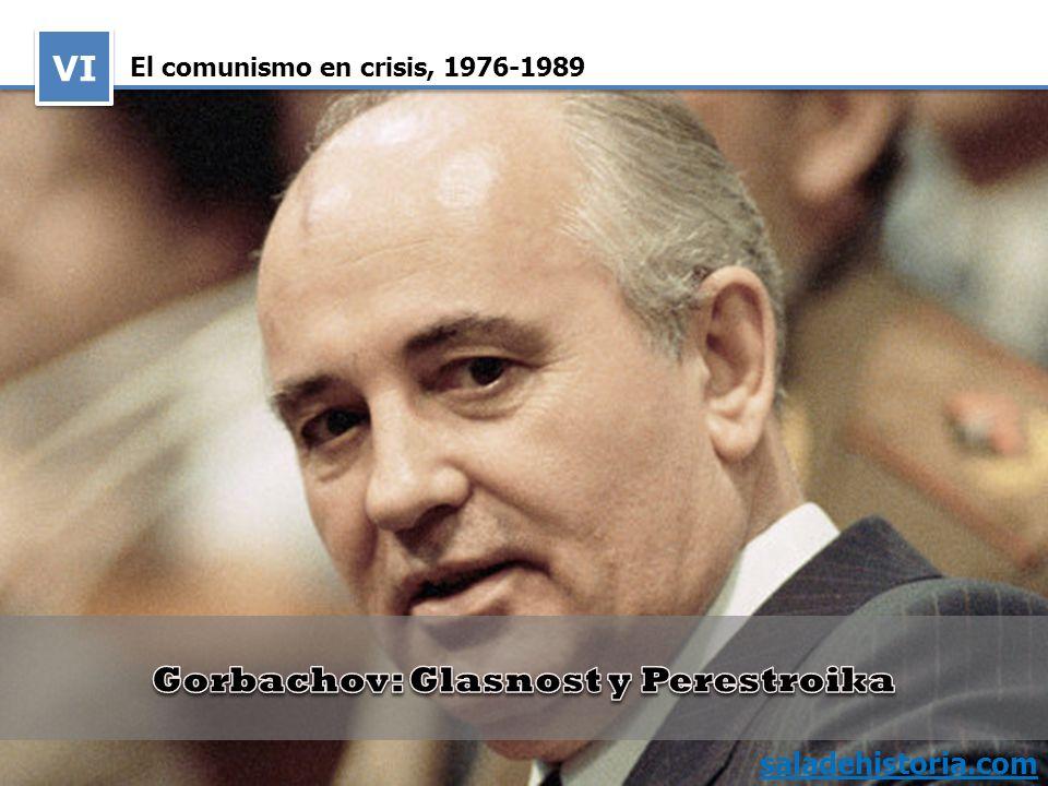El comunismo en crisis, 1976 1989 VI saladehistoria.com