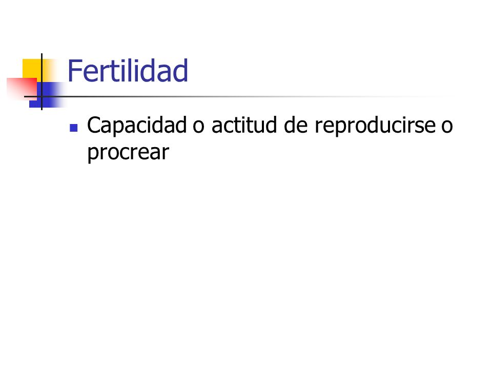 Tasa de Natalidad La Tasa de Natalidad (llamada también Tasa Bruta de Natalidad) indica el número de nacidos vivos por 1,000 habitantes en un determinado año