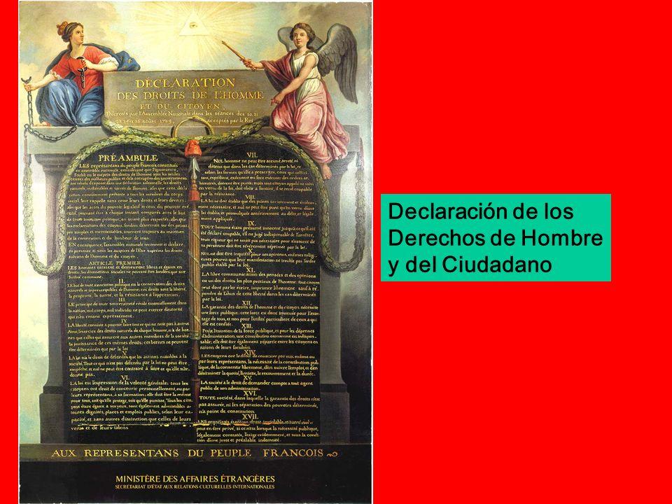 Declaración de los Derechos de Hombre y del Ciudadano