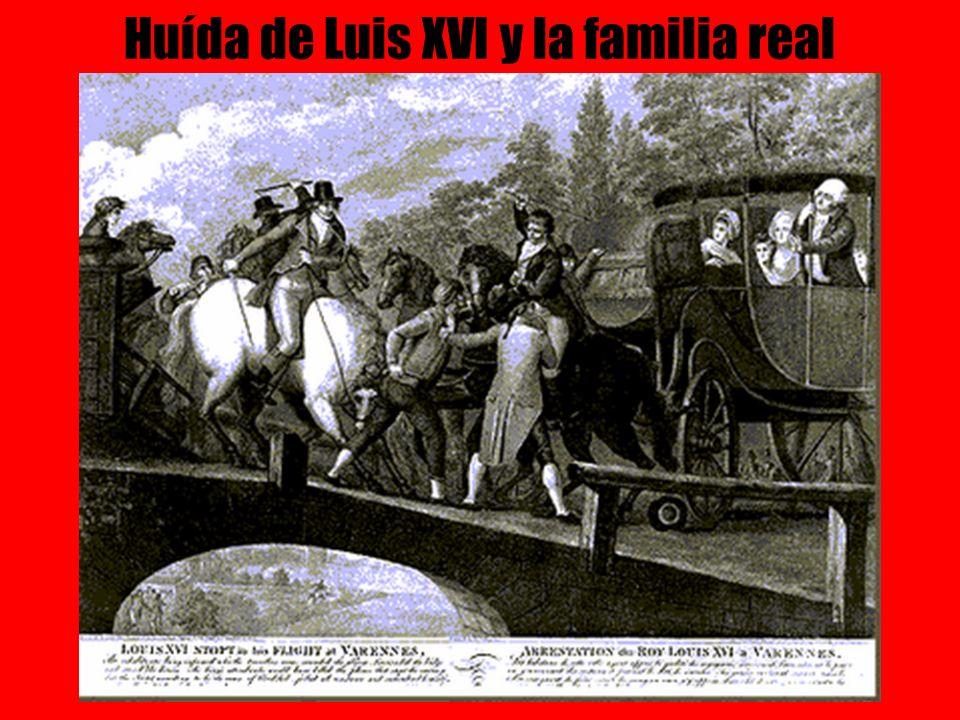 Huída de Luis XVI y la familia real