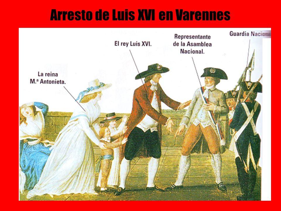 Arresto de Luis XVI en Varennes