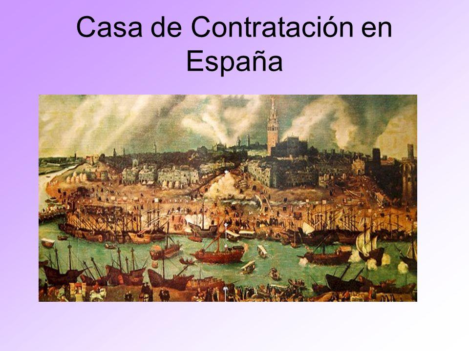 Casa de Contratación en España