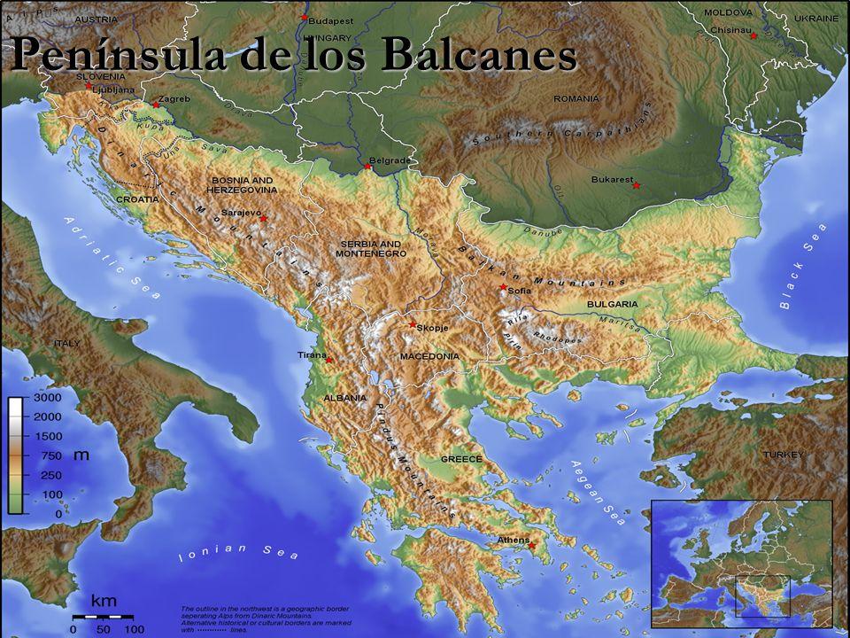 Península de los Balcanes