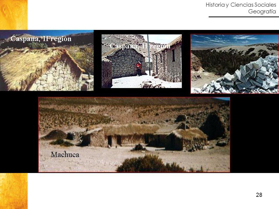 Historia y Ciencias Sociales Geografía 28