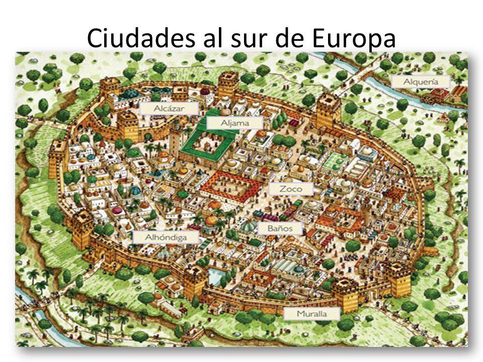 Ciudades al sur de Europa