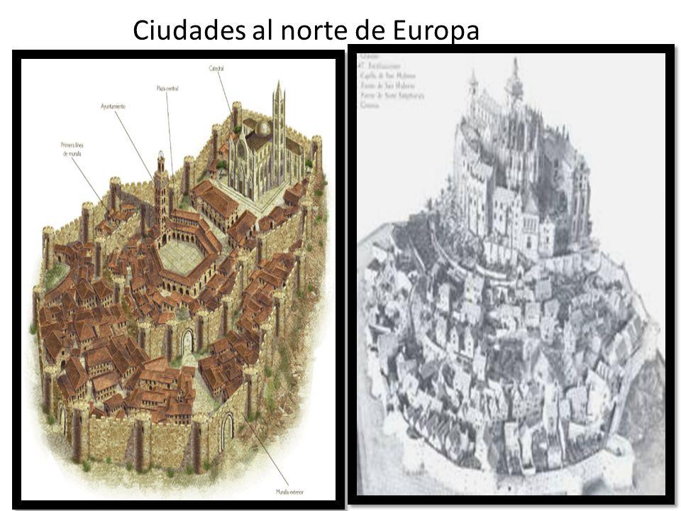 Ciudades al norte de Europa