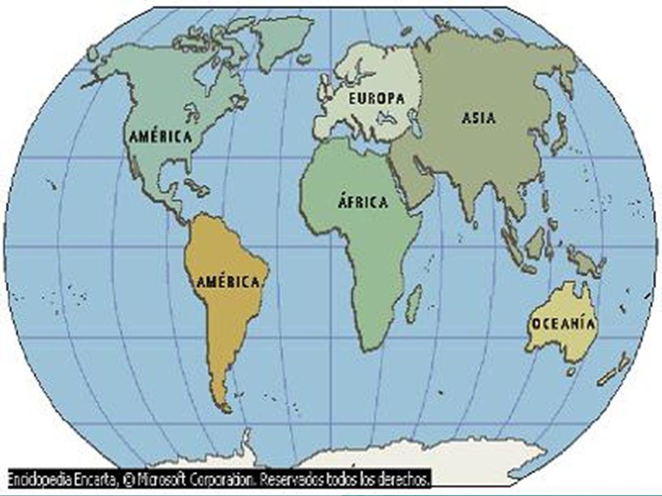 Un continente se distingue de una isla o una península, no sólo por su tamaño sino también por su estructura geológica y evolución.