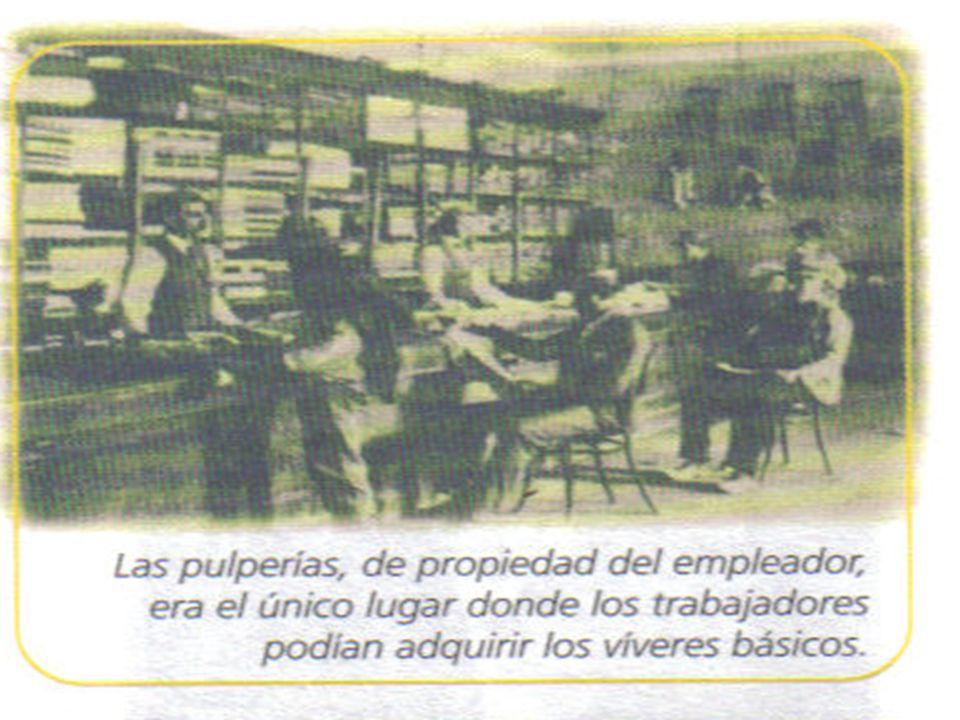 Gran huelga de Iquique : Peticiones de los obreros cambio del sistema de pago, abuso de las pulperías y medidas de seguridad en el trabajo.