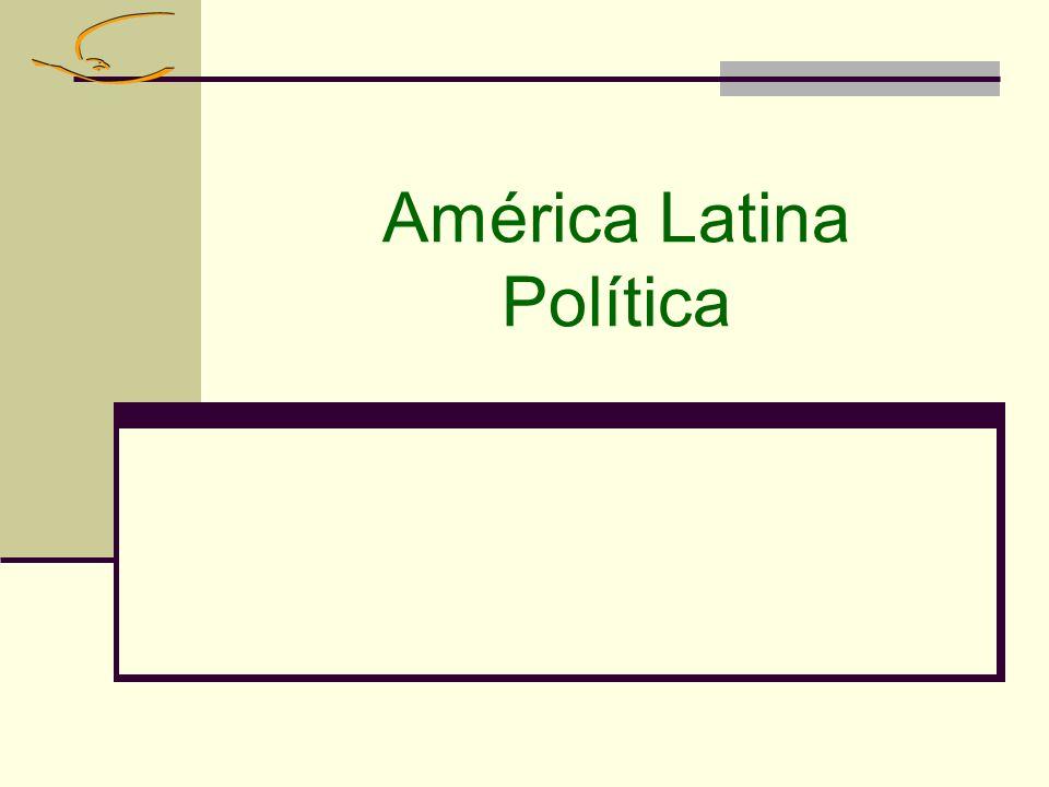América Latina Política