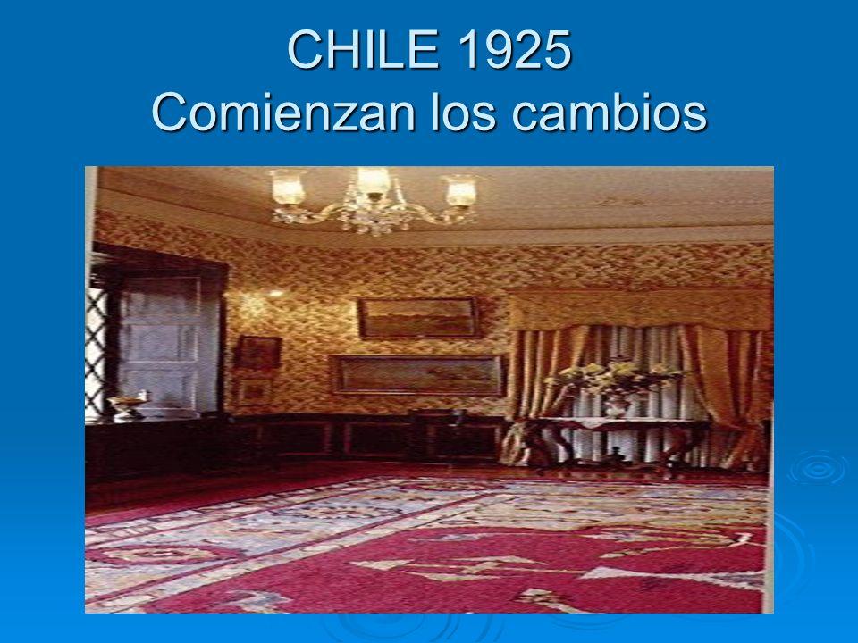 .1) LA SOCIEDAD: Hacia 1920, Chile tenía una población de 3.700.000 habitantes y en el Censo de 1952 esa cifra se elevó a los 6.000.000 de habitantes Hacia 1920, Chile tenía una población de 3.700.000 habitantes y en el Censo de 1952 esa cifra se elevó a los 6.000.000 de habitantes