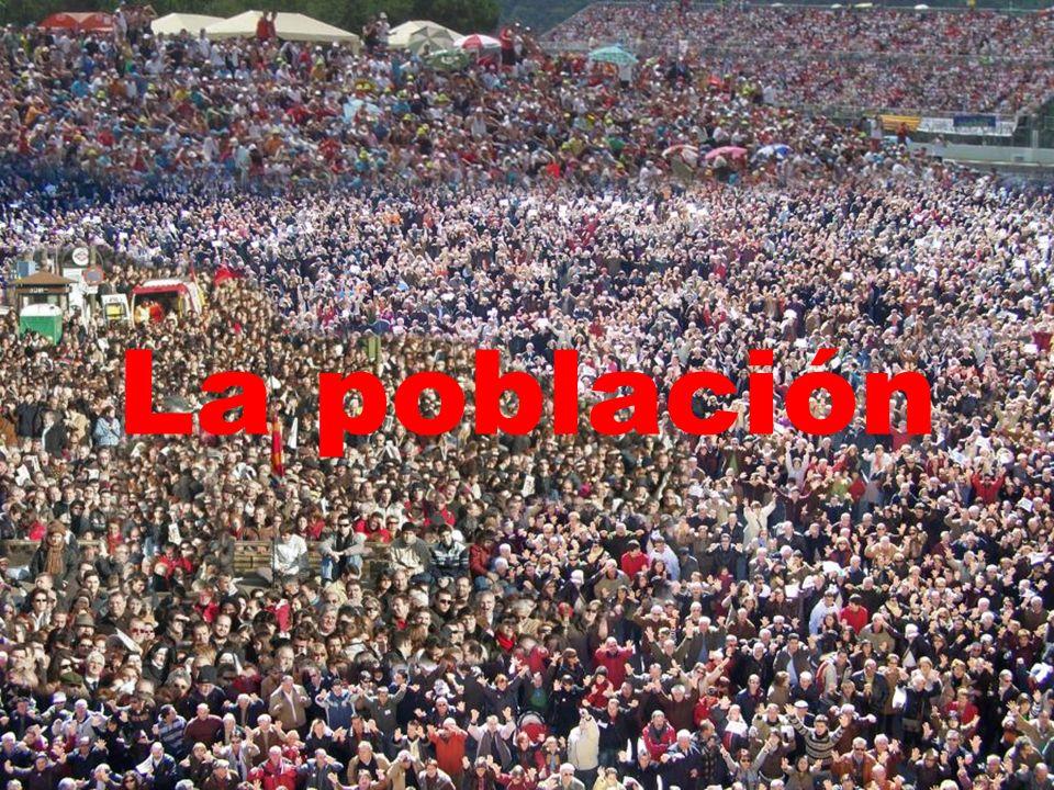 LA POBLACIÓN MUNDIAL 3.Evolución de la población LA ETAPA DE CRECIMIENTO ACELERADO 3.