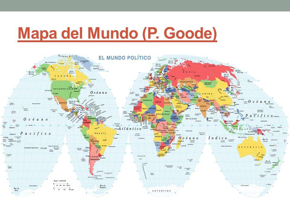 Mapa del Mundo (P. Goode)