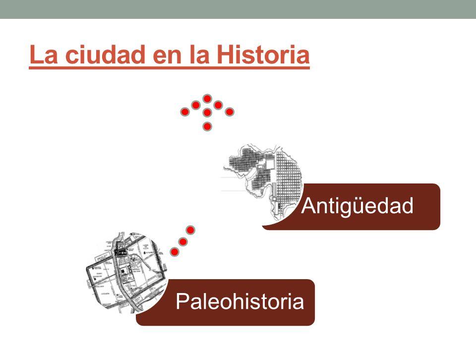 La ciudad en la Historia PaleohistoriaAntigüedad