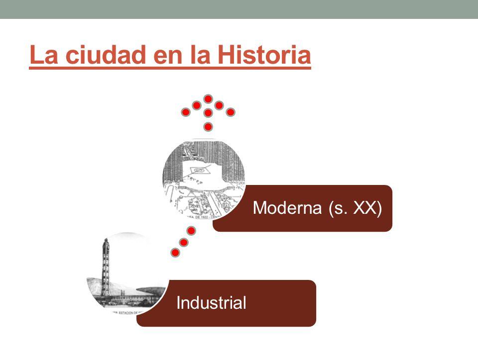 * Ciudad Hispana: -Plano de Damero (Ovandino).-Importancia del centro.