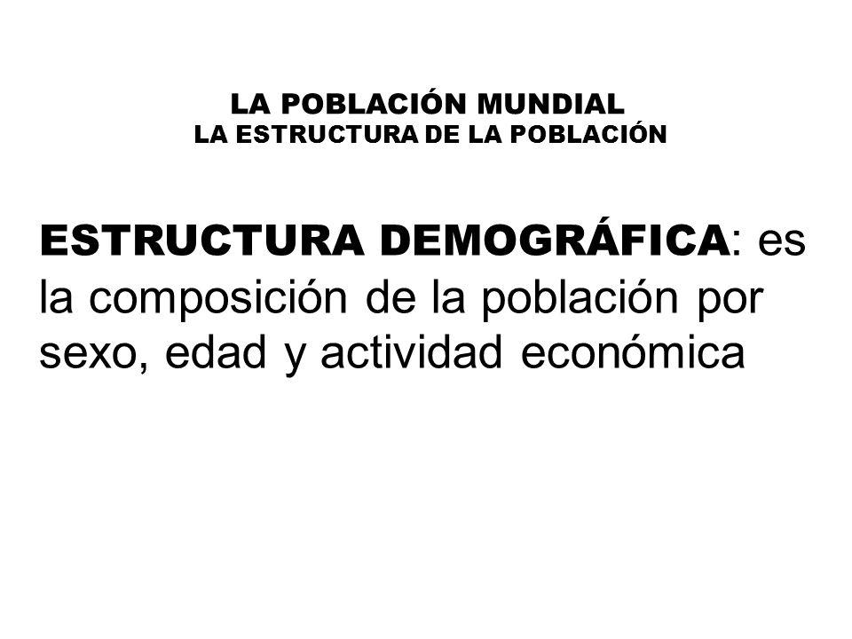 LA POBLACIÓN MUNDIAL 5.