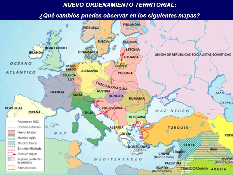 NUEVO ORDENAMIENTO TERRITORIAL: ¿Qué cambios puedes observar en los siguientes mapas?