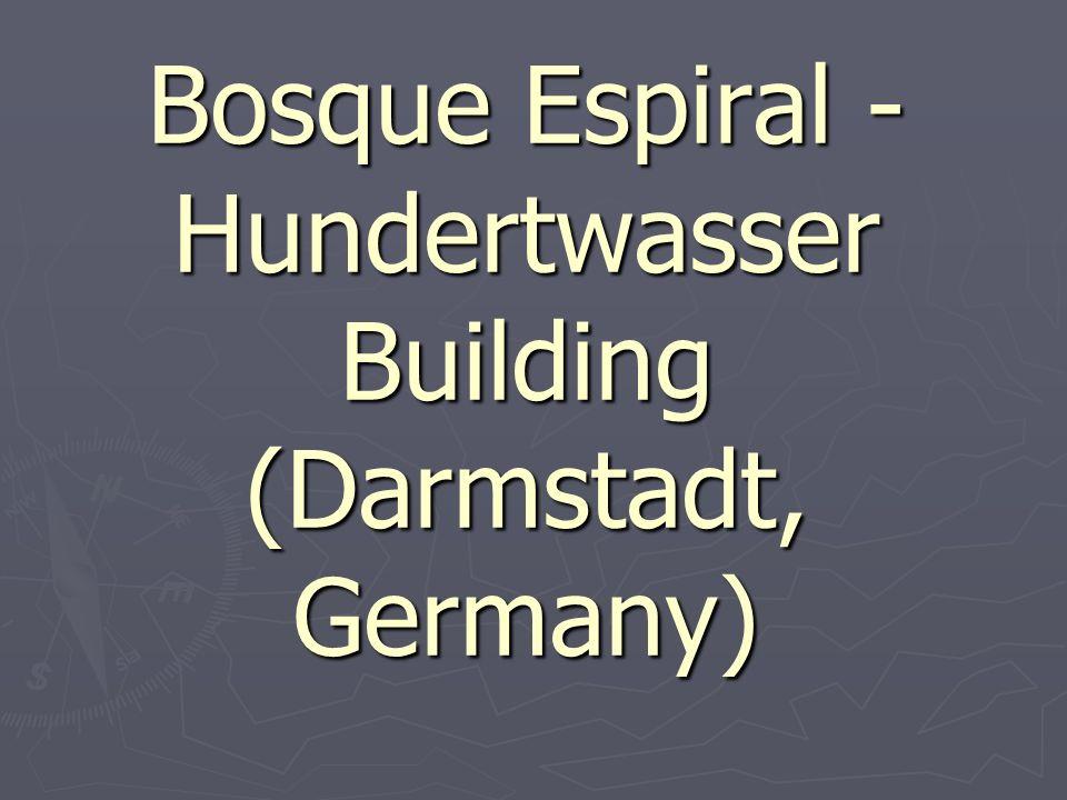 Bosque Espiral - Hundertwasser Building (Darmstadt, Germany)