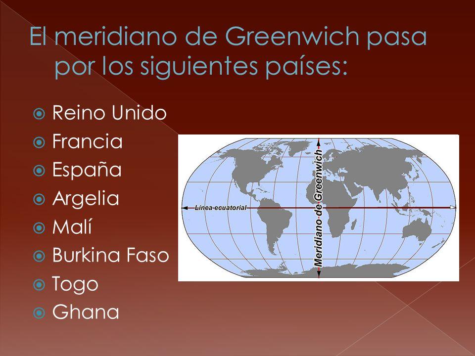 Reino Unido Francia España Argelia Malí Burkina Faso Togo Ghana