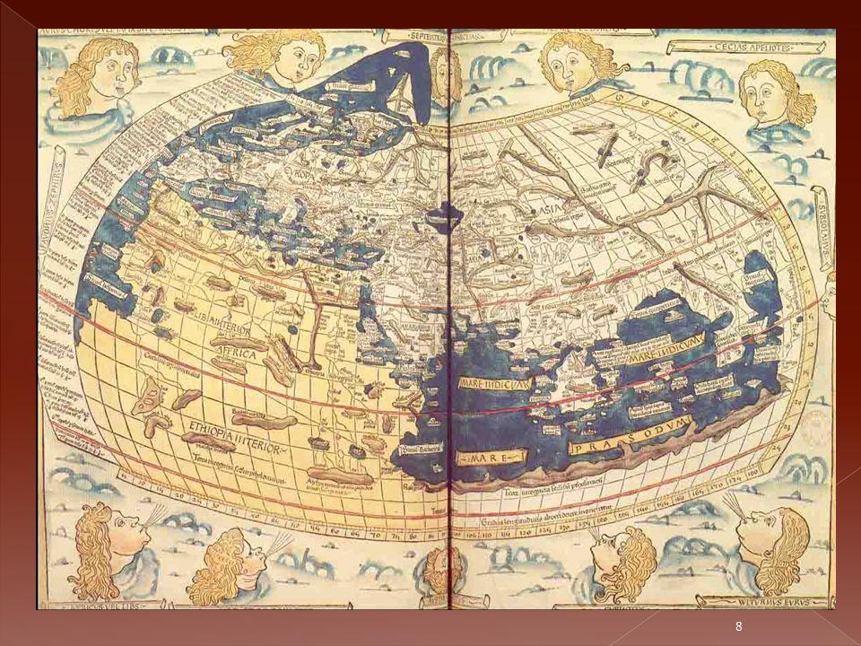 Círculos que aparecen trazados en los mapas paralelamente al Ecuador y al igual distancia de éste.