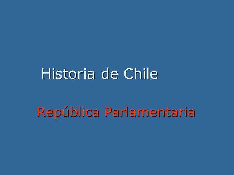 Historia de Chile República Parlamentaria