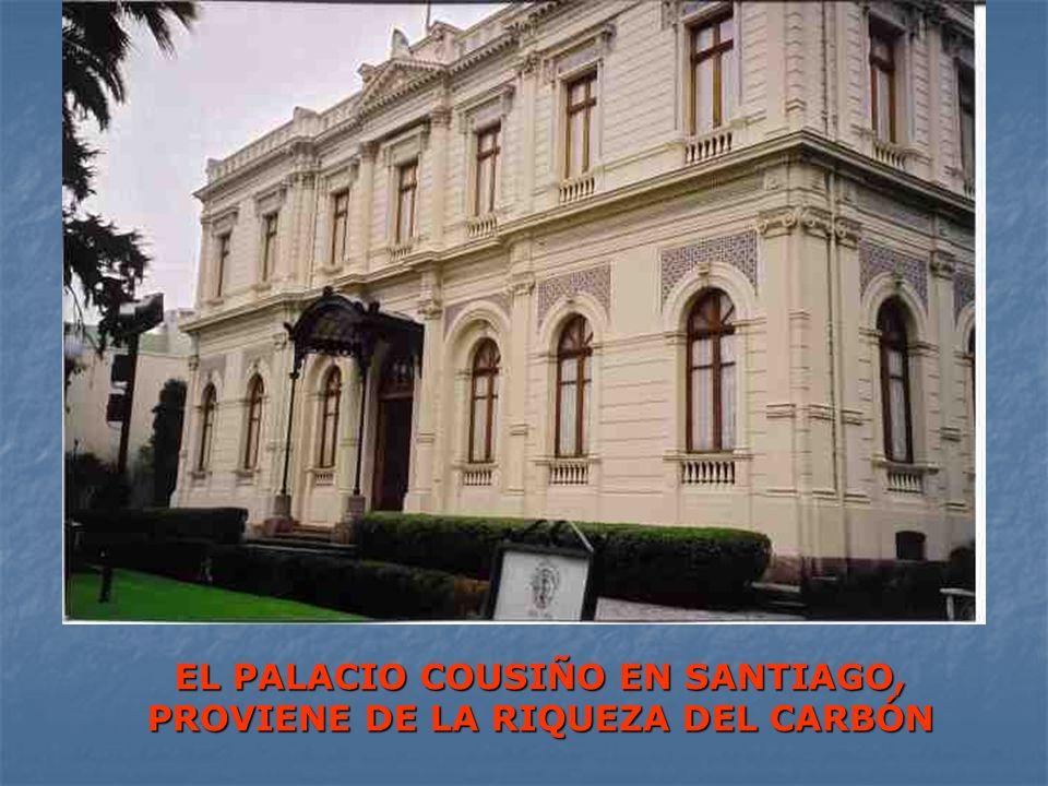 EL PALACIO COUSIÑO EN SANTIAGO, PROVIENE DE LA RIQUEZA DEL CARBÓN