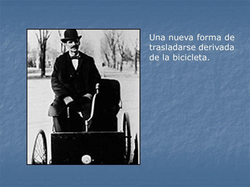 Una nueva forma de trasladarse derivada de la bicicleta.