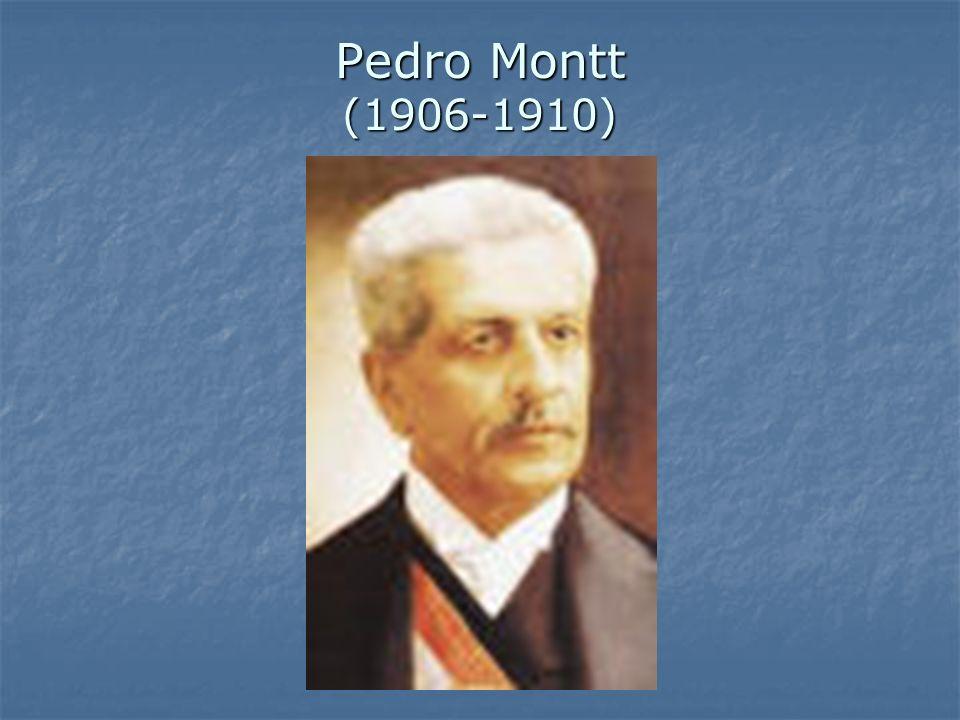 Pedro Montt (1906-1910)
