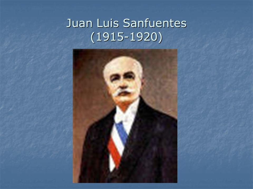 Juan Luis Sanfuentes (1915-1920)