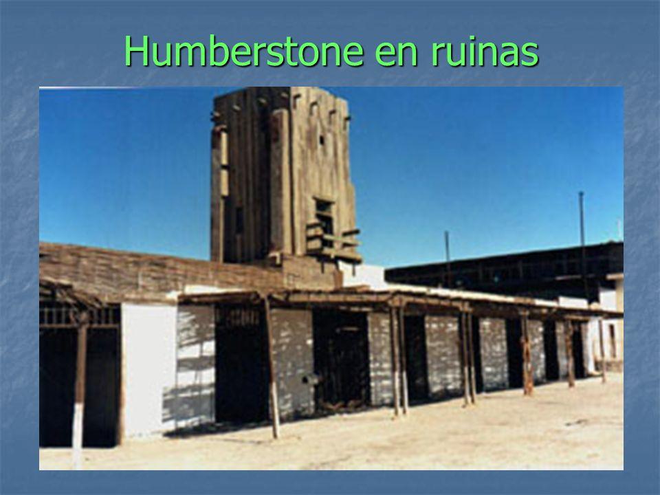 Humberstone en ruinas