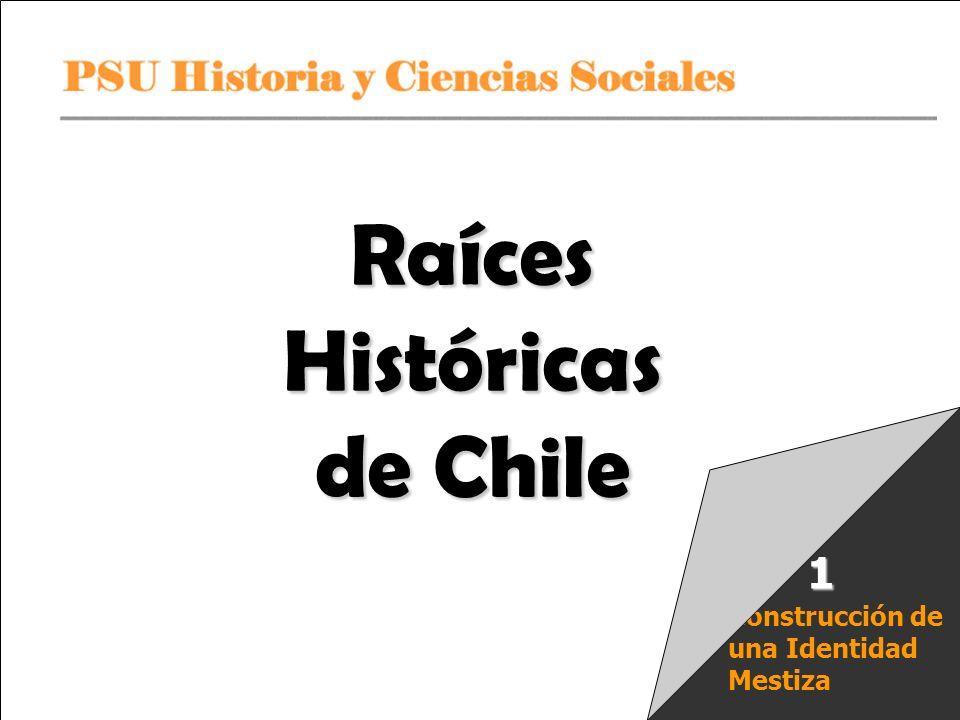 PSU Historia y Ciencias Sociales Raíces Históricas de Chile U 1/ 12 Los Mapuches Religión Tenían un sistema de creencias que era animista, esto es, creían que todo lo existente, material o no material, poseía una especie de alma o ánima que le daba vida propia.