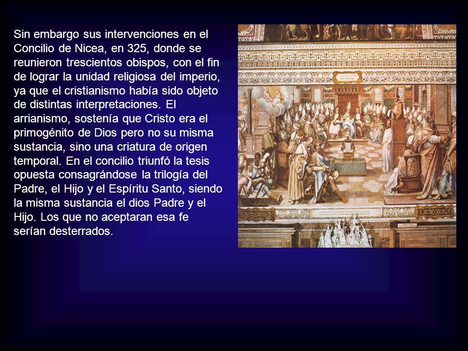 En esa fecha el Imperio estaba compuesto por 50.000.000 de habitantes de los cuales los cristianos representaban el 10 %.