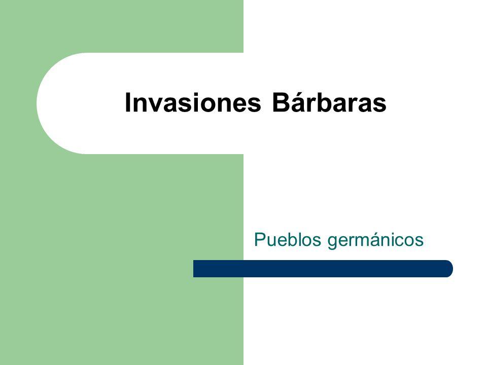 Invasiones Bárbaras Las invasiones bárbaras o también Época de grandes migraciones, fue un conjunto de migraciones masivas que se desarrollaron entre los Siglos III y VII de nuestra era en Europa y la cuenca del mediterráneo.